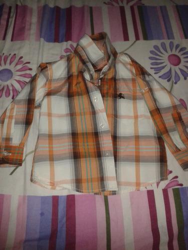 camisa manga larga niño usada