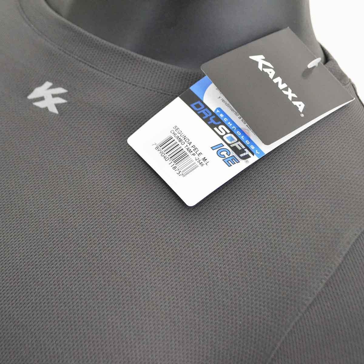 camisa térmica segunda pele kanxa manga longa poliamida c nf. Carregando  zoom... camisa manga longa. Carregando zoom. 955b03725dcf5