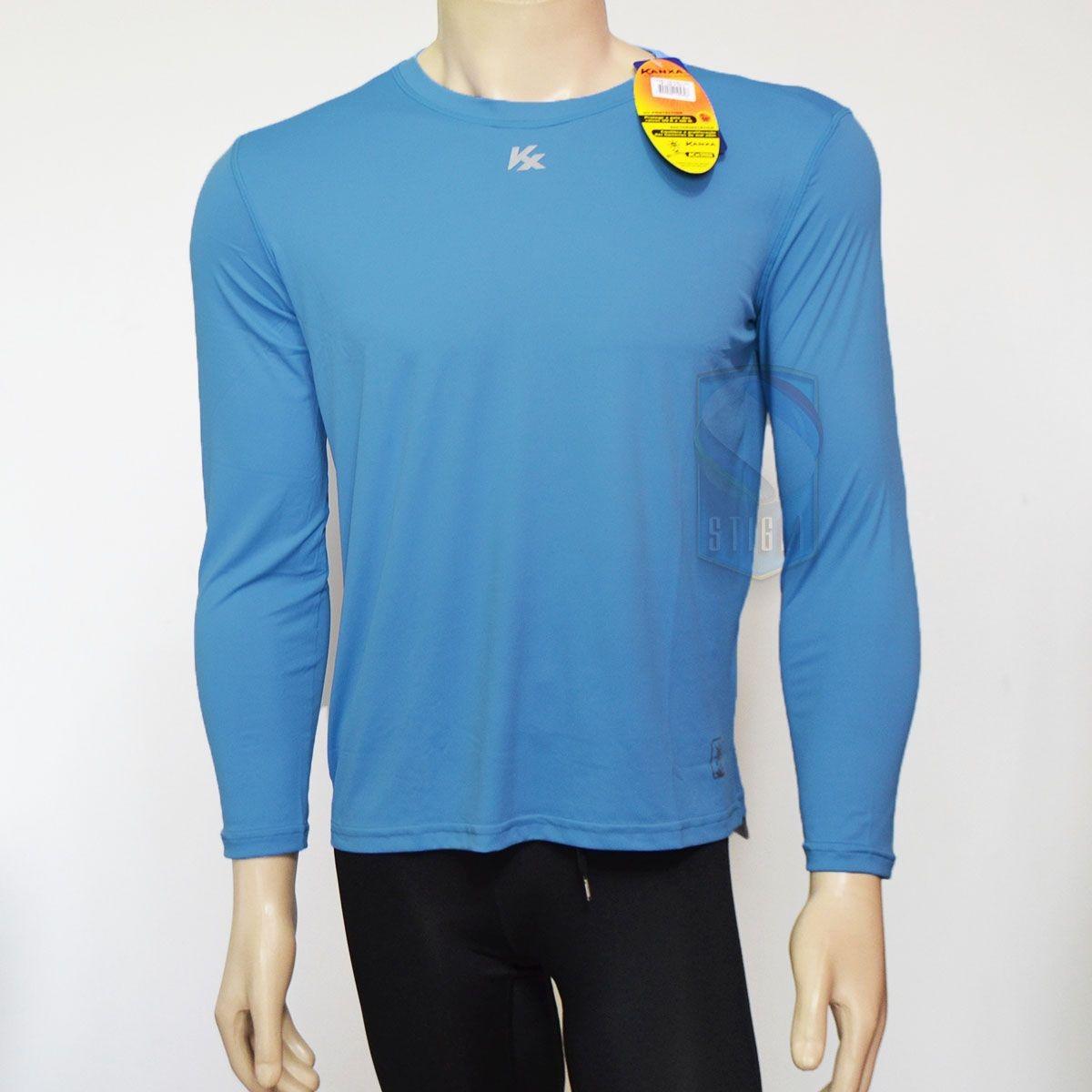Camisa Manga Longa Kanxa Proteção Solar Fps 50+ Bactericida - R  89 ... 5c9c626f33666