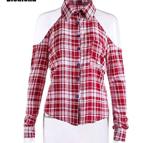 81b81daa8 camisa xadrez feminina manga longa ombro vazado · camisa manga longa