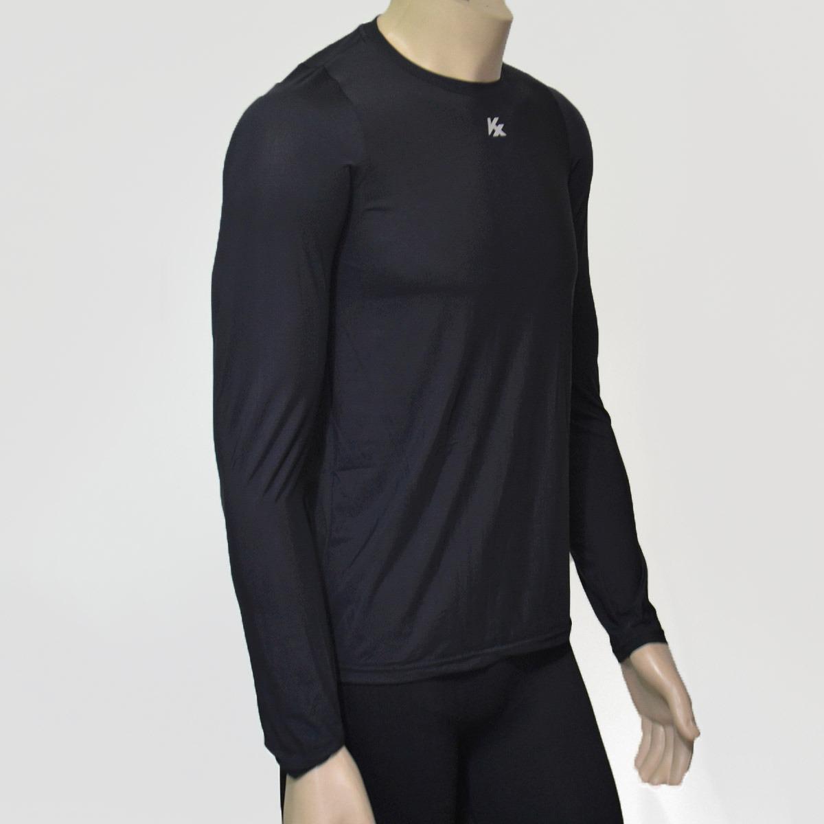 Carregando zoom... manga longa camisa. Carregando zoom... camisa térmica  kanxa alta compressão manga longa poliamida fa5efaa0c500d