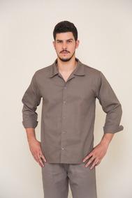 f420efa2e0a Camisa Manga Longa Brim Uniformes Profissionais Pedreiro
