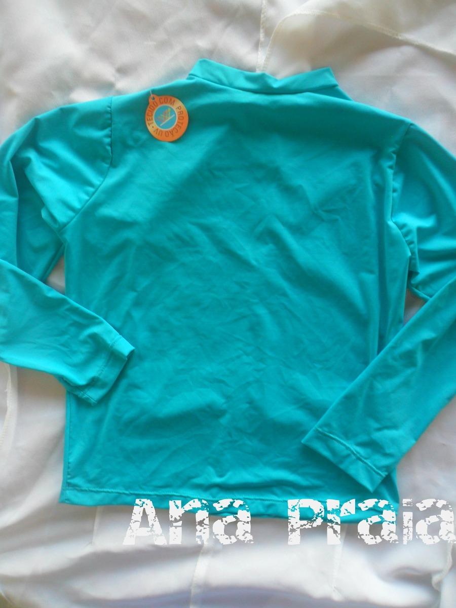 dab631b58a camisa manga longa de proteção solar uv infantil. Carregando zoom.