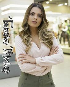 bc0feaab8fef Camisa Rose Feminina no Mercado Livre Brasil
