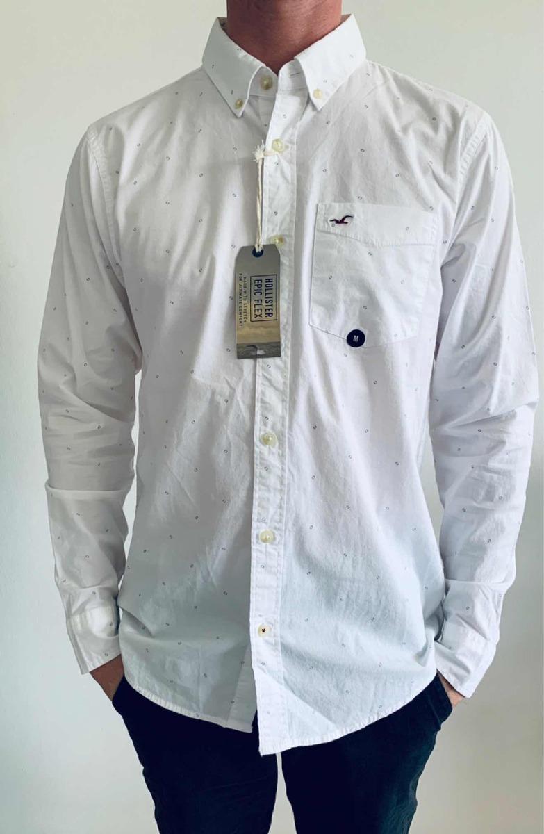 9c413d1896 camisa manga longa hollister m - pronta entrega. Carregando zoom.