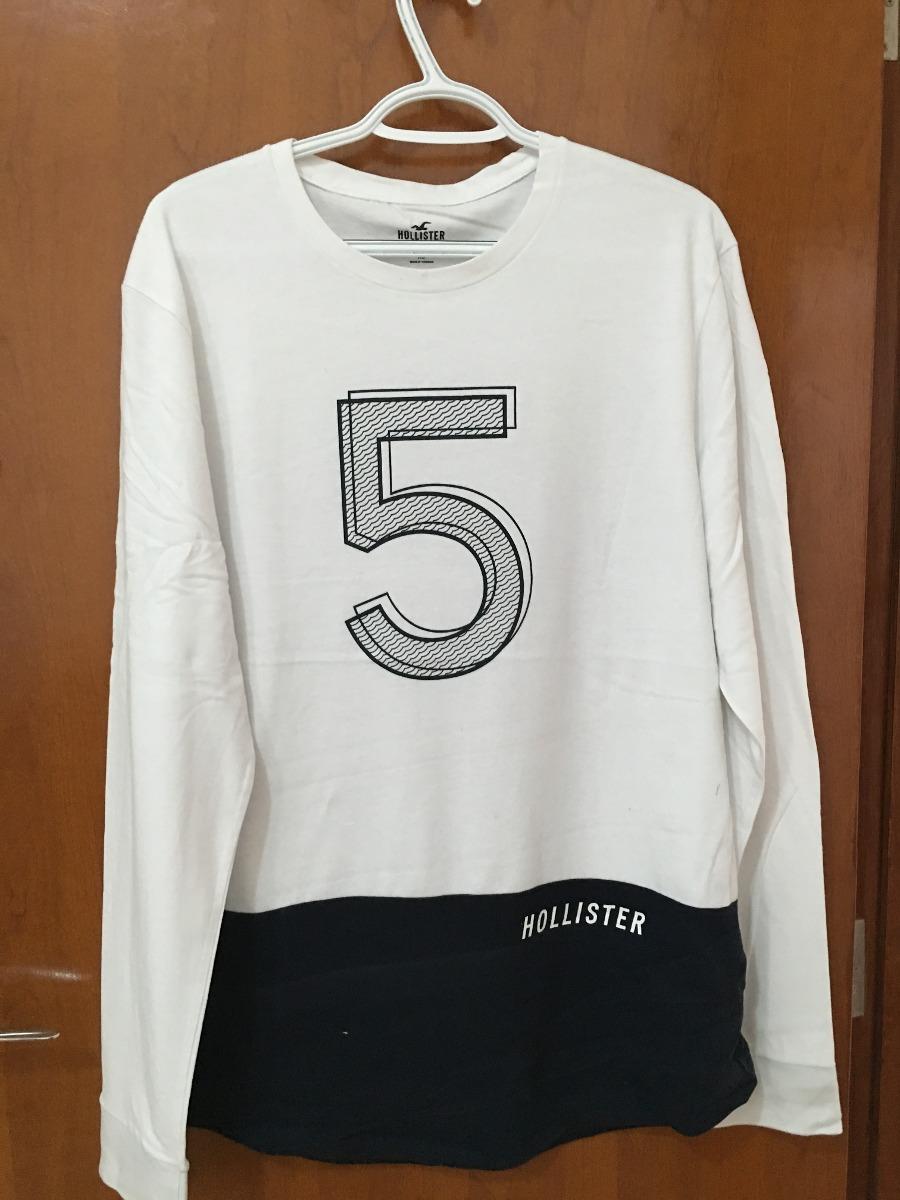 50cfd23f7d camisa manga longa hollister original pronta entrega. Carregando zoom.