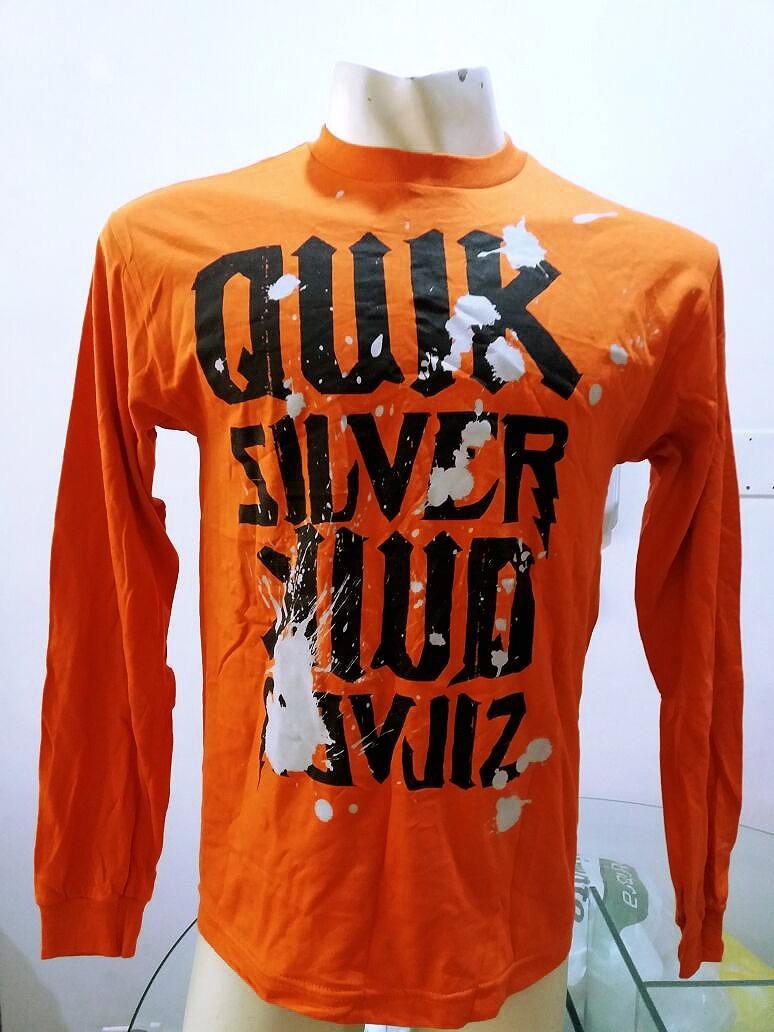 Camisa Manga Longa Importada Quiksilver - Tamanho M - R  89,90 em ... f1585eefe7