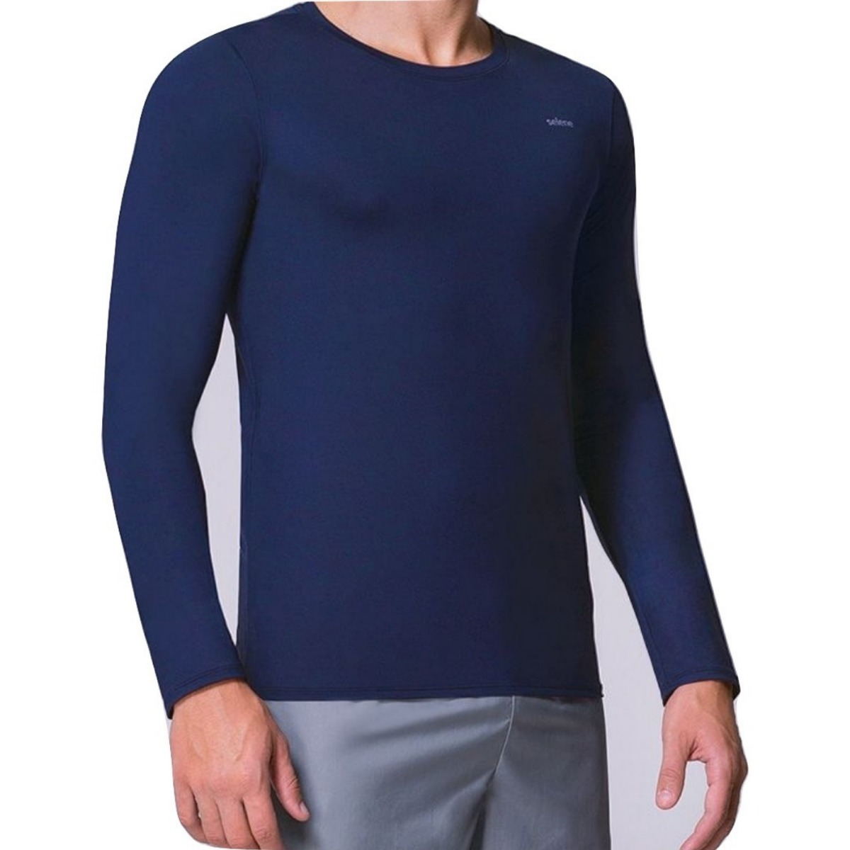 a15a255614db6d camisa manga longa proteção solar uv50+ selene masculino. Carregando zoom.