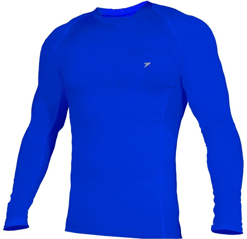 476dac568cbee camisa manga longa térmica poker skim basic azul   infantil. Carregando  zoom.