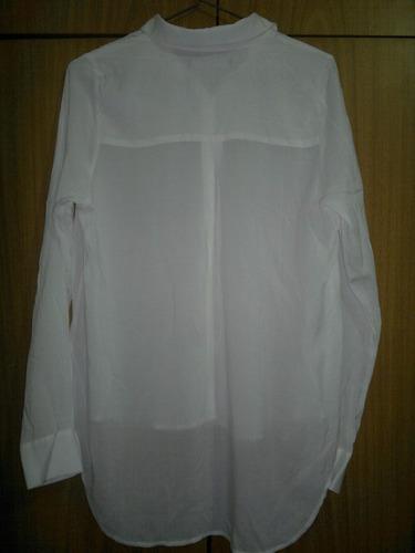 camisa mangas largas de fibrana de vestir largas st marie