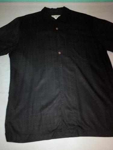 camisa marca caribbean joe talla m (grande)