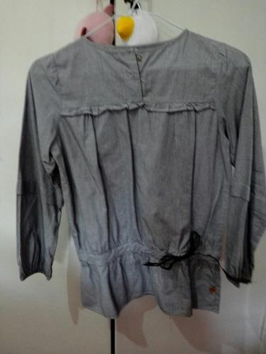 camisa marca chibel  talle 12de algodon impecable