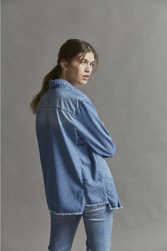 camisa maria cher chapman jean original