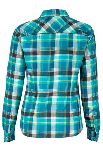 camisa marmot mujer bridget flannel ls