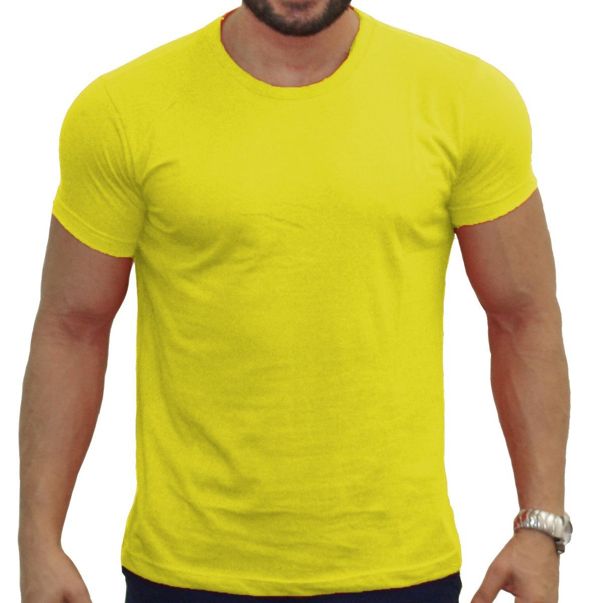 70e497ed4 camisa masculina amarela lisa marca empório colombo. Carregando zoom.