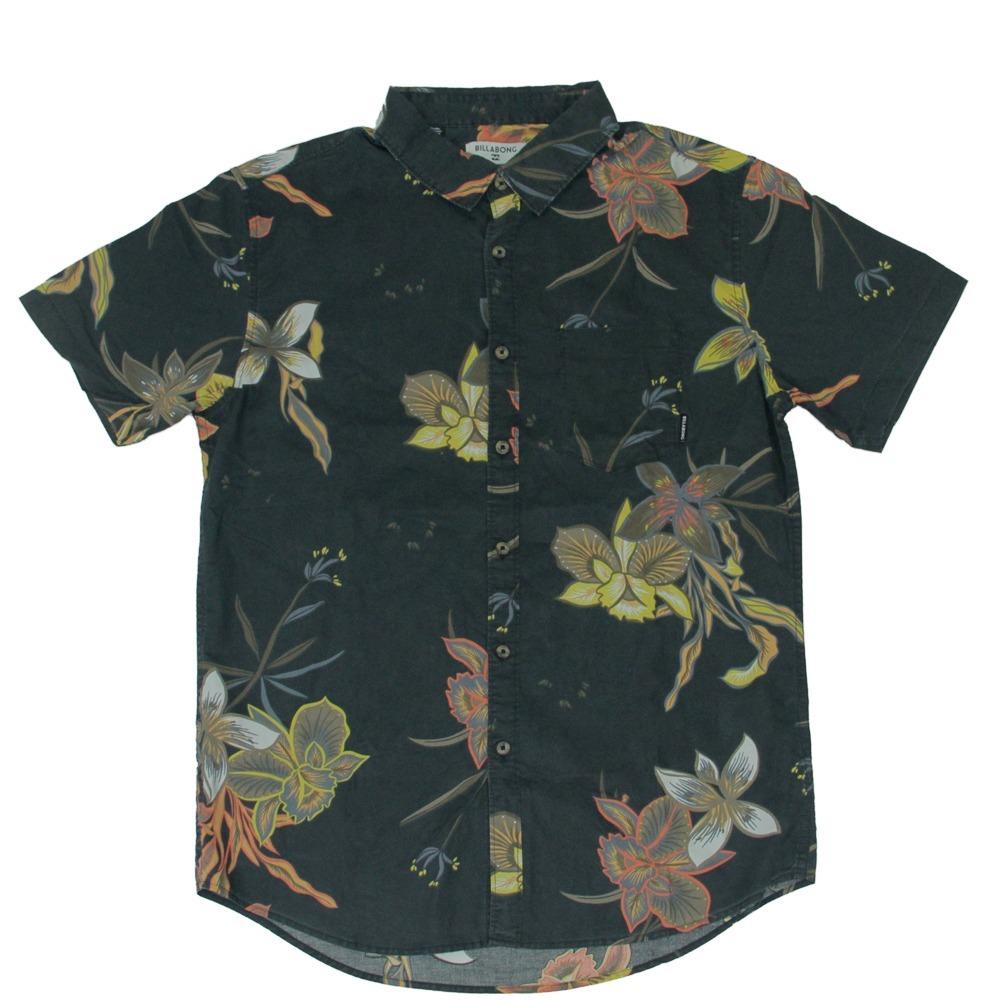camisa masculina billabong sunday floral manga curta verão. Carregando zoom. c5565f2d826