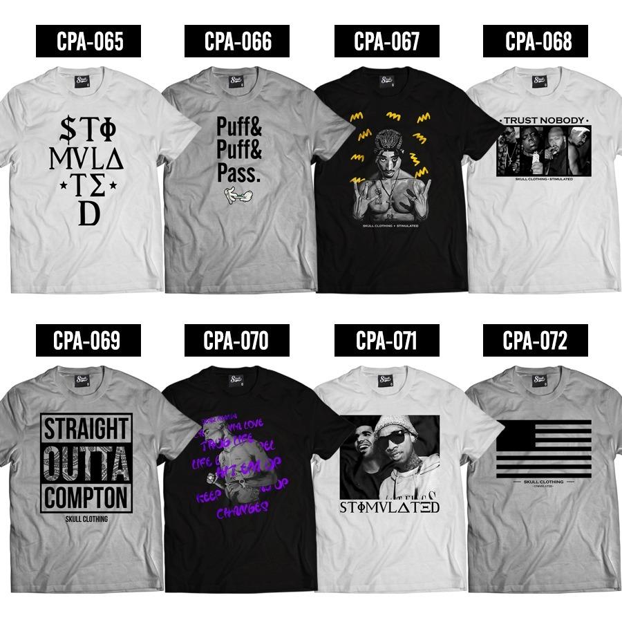 36e5dcf413080 Camisa Masculina Camiseta Run Dmc Hip Hop - Alta Qualidade! - R  49 ...