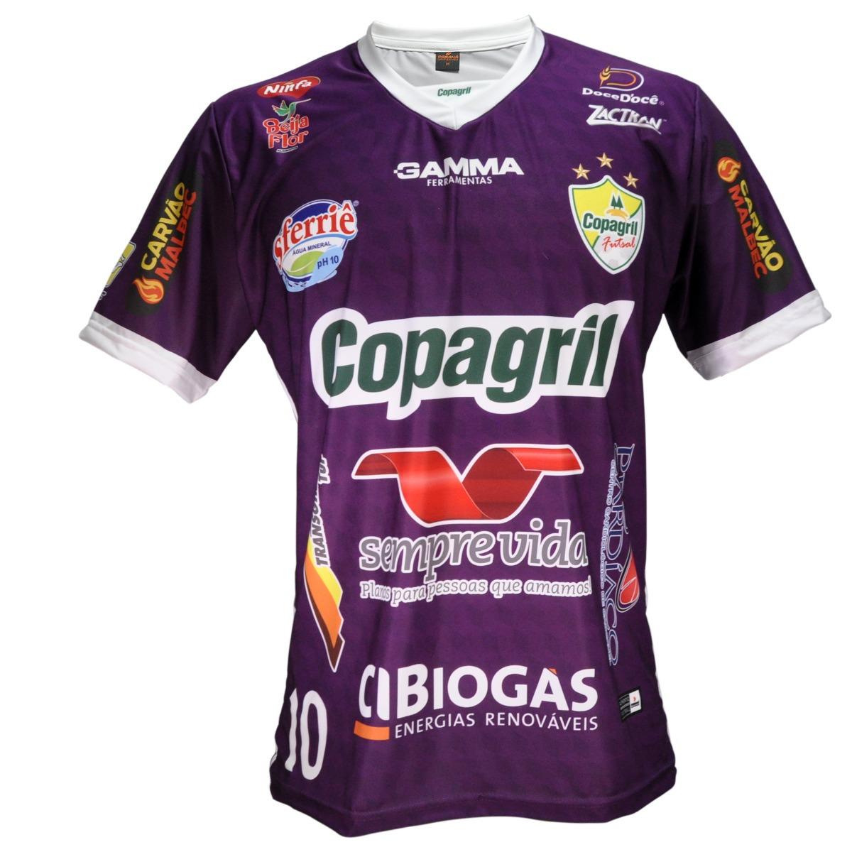 camisa masculina copagril futsal 2018 - paraná uniformes. Carregando zoom. 8b2499d8e1c8e