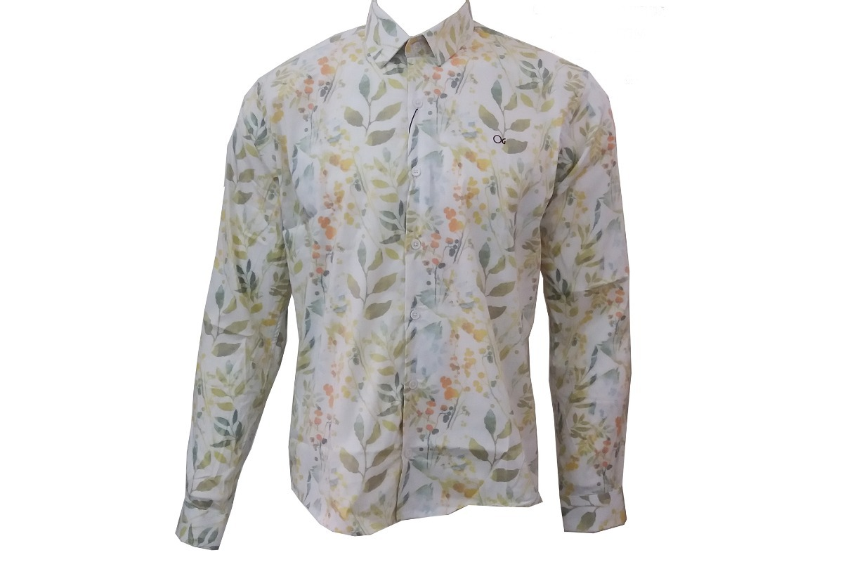 9ee9d3e95c camisa masculina estampada manga longa ogochi 001398512. Carregando zoom.