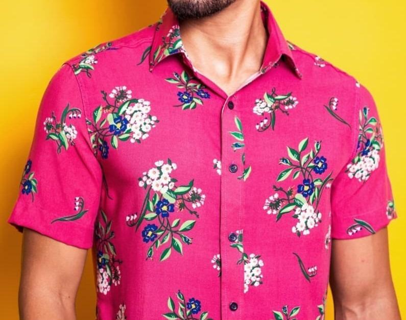 Camisa Masculina Estilosa - Kit Com 2(duas) Em 12x S  Juros - R  143 ... a90ef43db4f4e