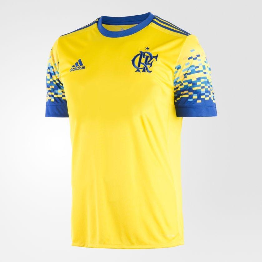 camisa masculina flamengo adidas iii 17 18 s nº torcedor. Carregando zoom. 35e3eff3b46d1