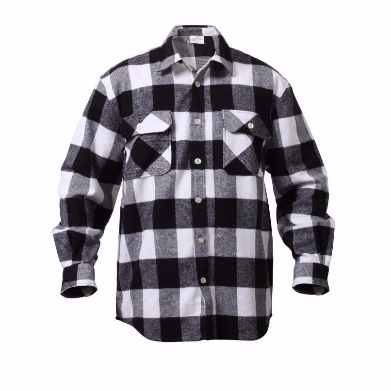 camisa masculina flanela xadrez lenhador. Carregando zoom. 73192242c6c24