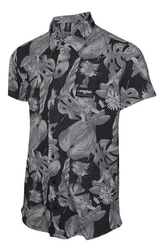 camisa masculina flora polo rg518