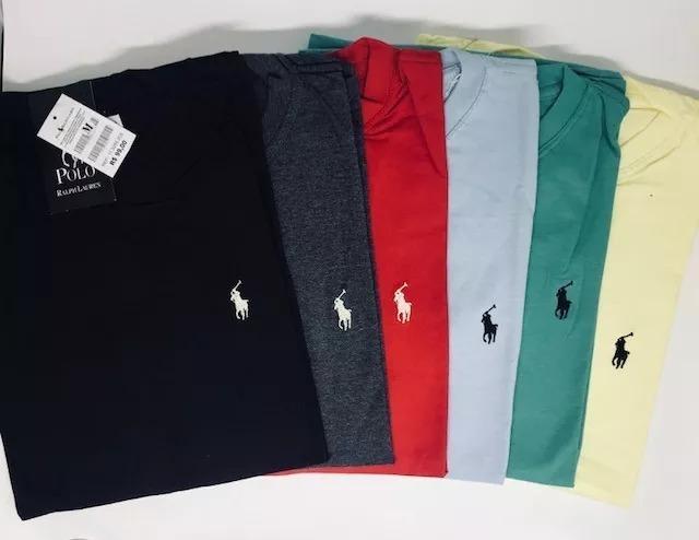 3f7df00ebe Camisa Masculina Gola Careca Básicas Polo Ofertas - R  29