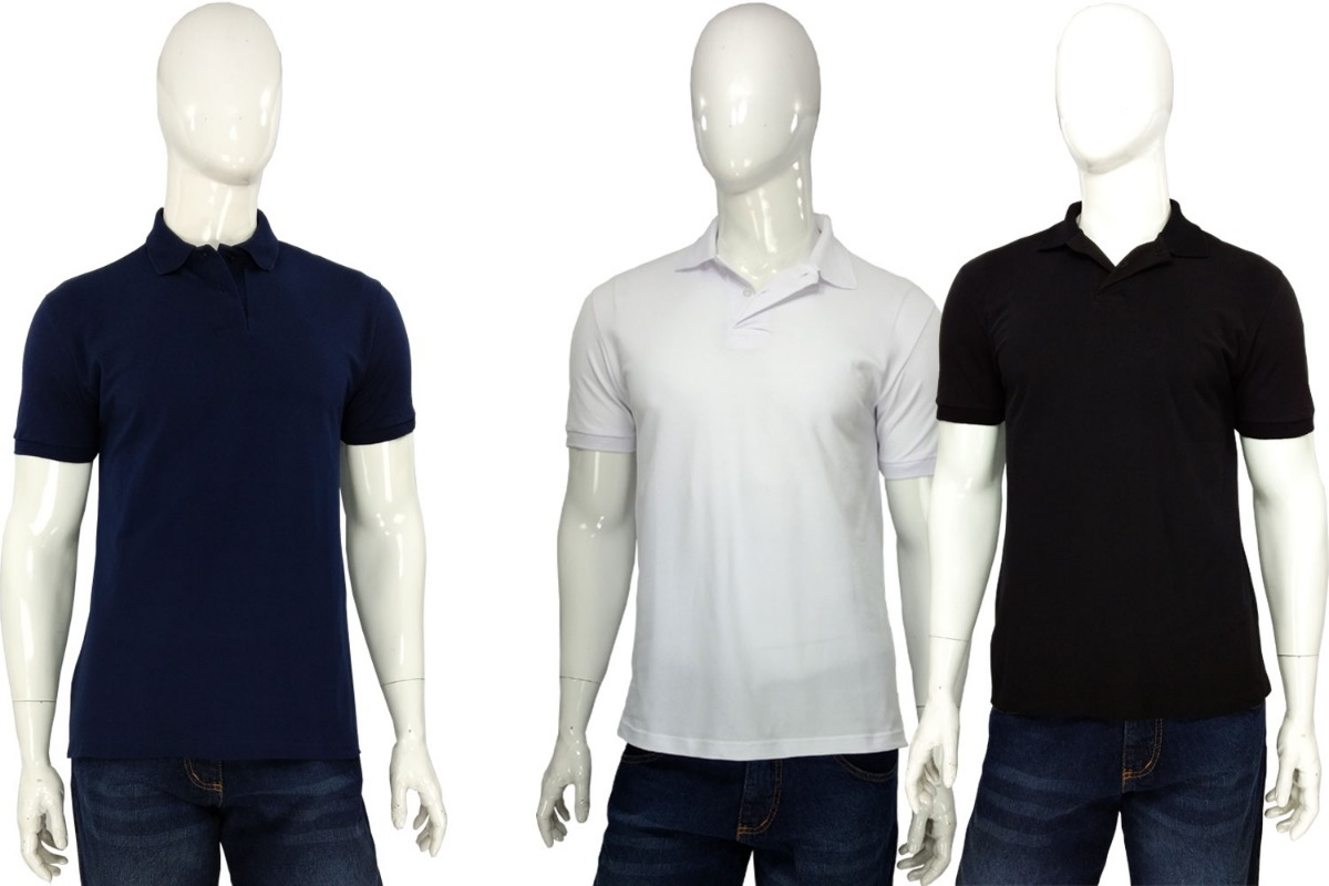 1143f5334d camisa masculina gola polo lisa camiseta tradicional malwee. Carregando  zoom.