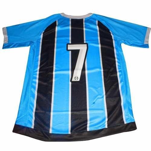 Camisa Masculina Umbro Grêmio Of. 1 Mundial 2017 Tricolor - R  199 ... 817aec7556651