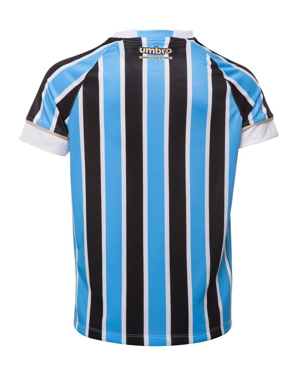 5d685dd3c Camisa Oficial Masculina Umbro Grêmio Of 1 2018 Sem Número - R  249 ...