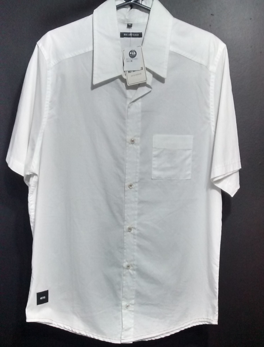 Camisa Masculina Hb-hot Buttered Original. - R  89,90 em Mercado Livre e7d27f1756