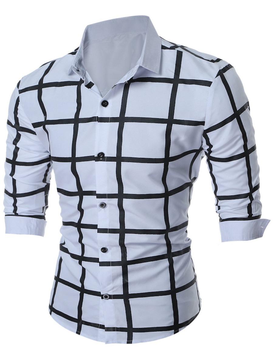 1fd1dc967f9a8 camisa masculina importada luxo roupas homem casual elegante. Carregando  zoom.