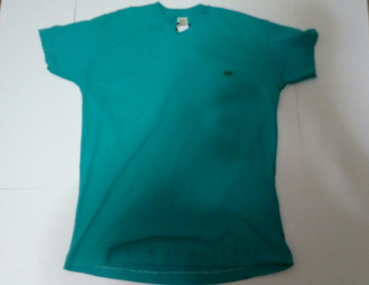 5ce04aeb290 camisa masculina lacoste verde tamanho gg. Carregando zoom.