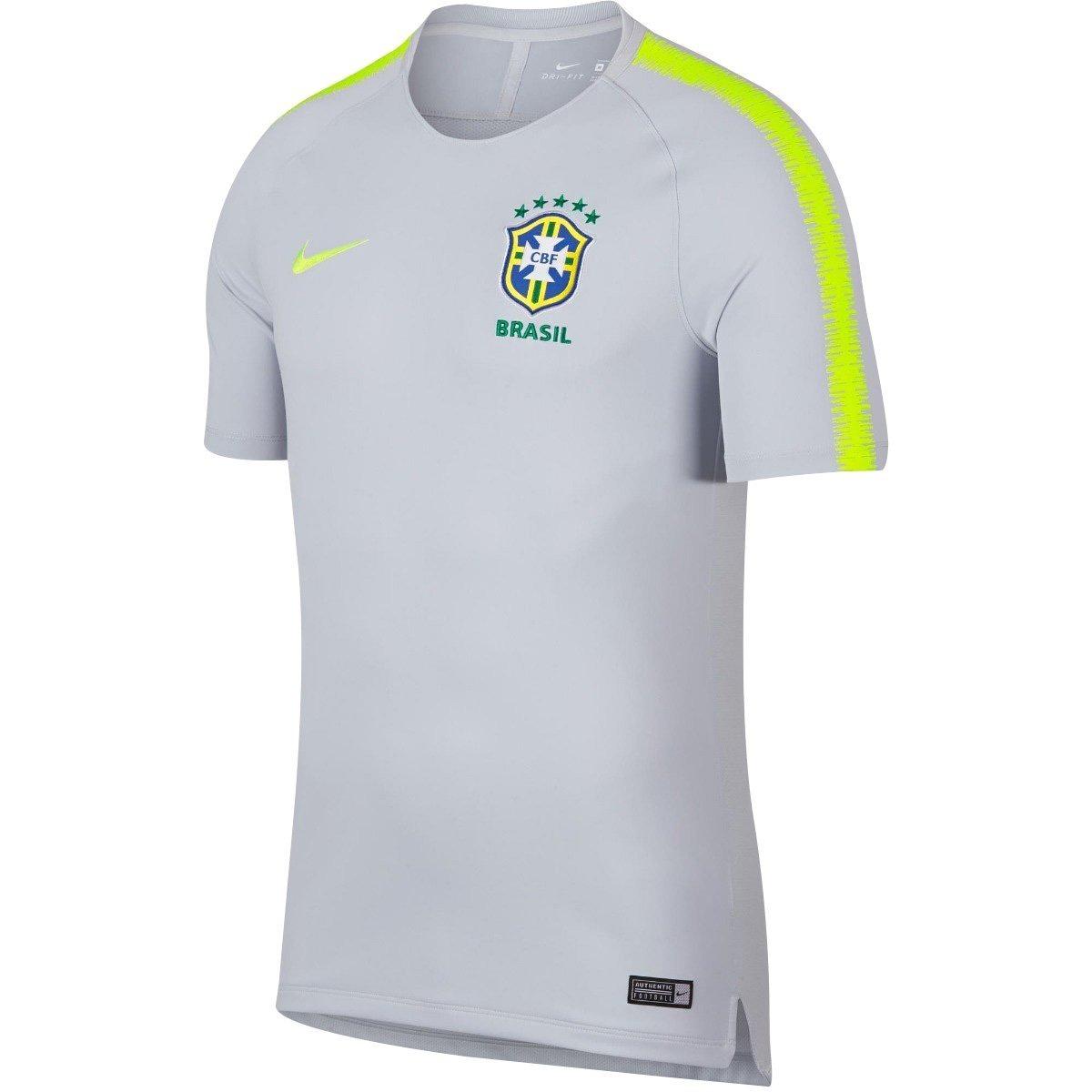 88c4855b4d3c1 Camisa Masculina Nike Brasil Cbf Treino Breathe Original+nf - R  189 ...