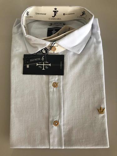 camisa masculina novas