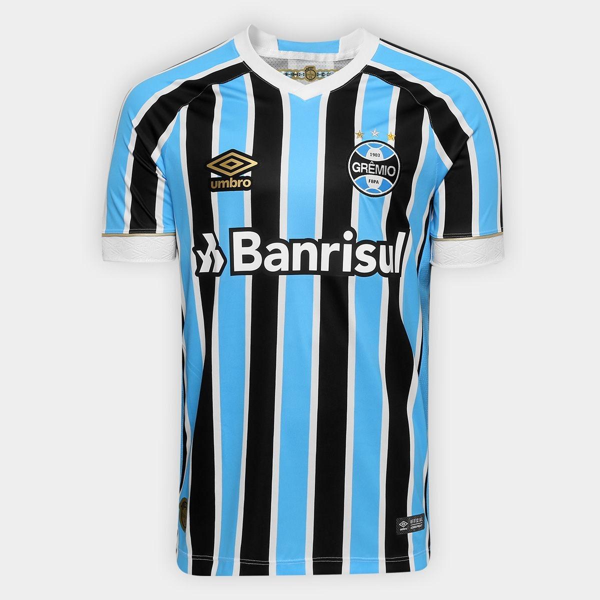 camisa masculina oficial 1 grêmio 2018 torcedor umbro fan. Carregando zoom. efaf108ccedeb