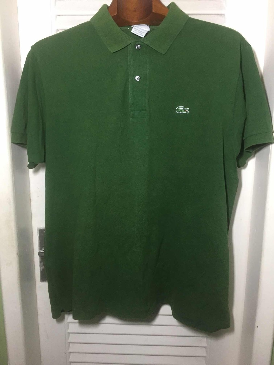 Camisa Masculina Polo Lacoste Original Tam 3 m( Frete Gratis - R  70 ... 715ee47768