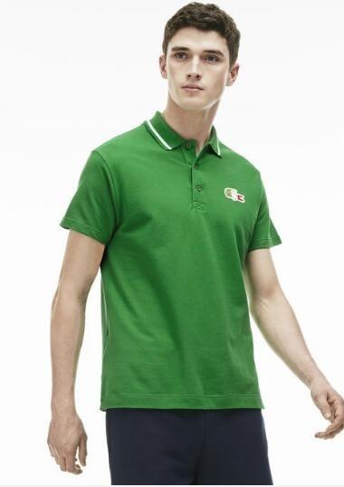 1f28c4833fd Camisa Masculina Polo Lacoste Sport Bandeira Do Brasil - R  239
