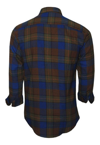 camisa masculina polo rg518 flanelada polo