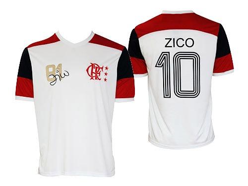 Camisa Masculina Retrô Zico - R  79 d97c7196a37e0
