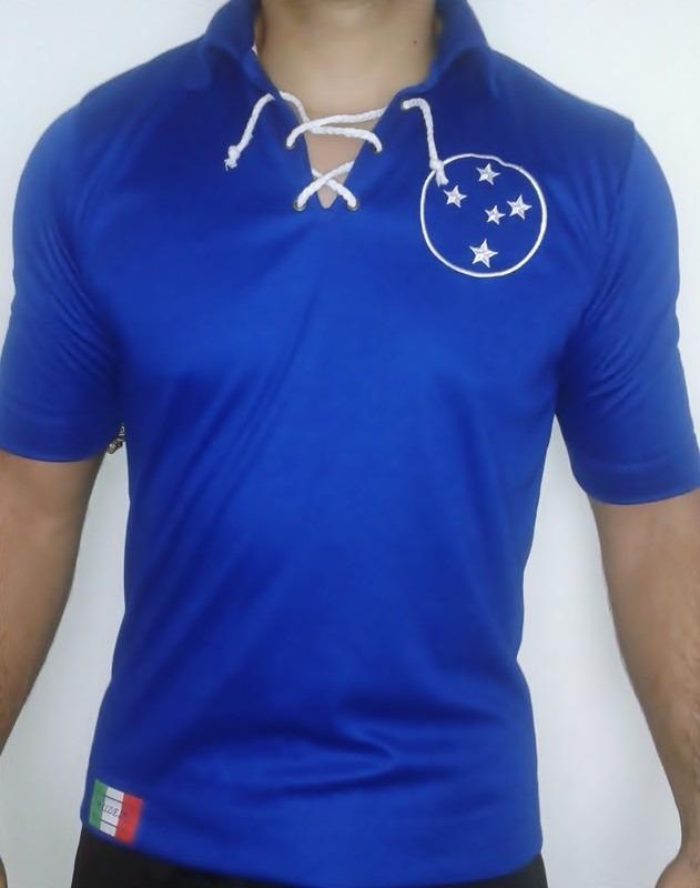 a086f97e15 camisa masculina retro cruzeiro azul. Carregando zoom.
