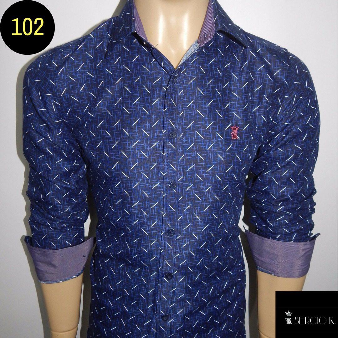 7158bcc289 camisa masculina slim fit camisa social masculina liquidação. Carregando  zoom.