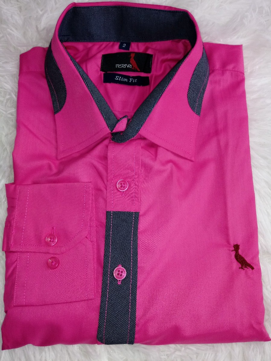 bf3aed6b9c9308 Camisa Masculina Slim Fit Camisa Social Masculina Liquidação - R ...