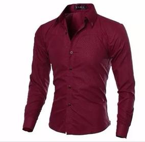 2e9e49163 Camisa Cetim Masculina - Camisa Social Manga Longa Masculino no ...
