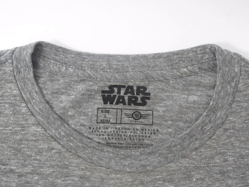 camisa masculina star wars cinza original