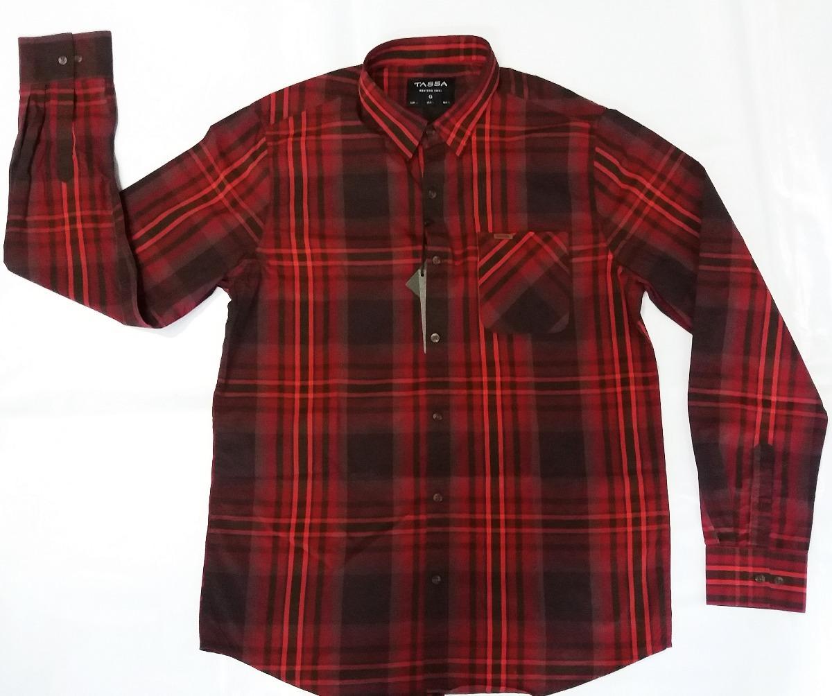 camisa masculina tassa vermelha xadrez country rodeio. Carregando zoom. a4e863fcefe1a
