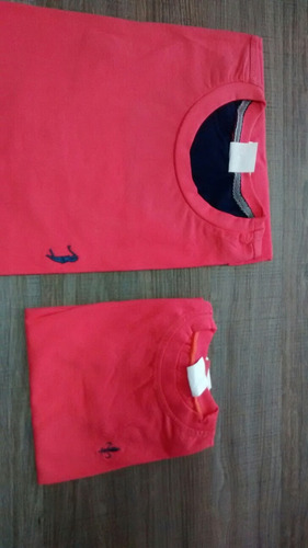 camisa masculino gola redonda kit tal pai tal filho promoção