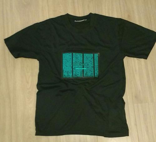 camisa matrix retro iluminada