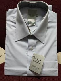 616cdb6f58 Camisa Social Masculina Slim Poggio. São Paulo · Camisa Mc Com Bolso  Tamanho 3 Ou G Algodão